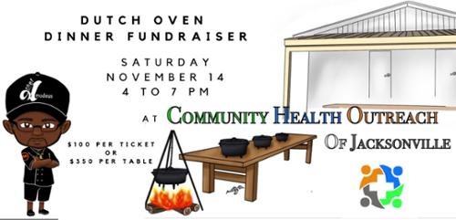 Dutch Oven Fundraiser for Community Health Outreach